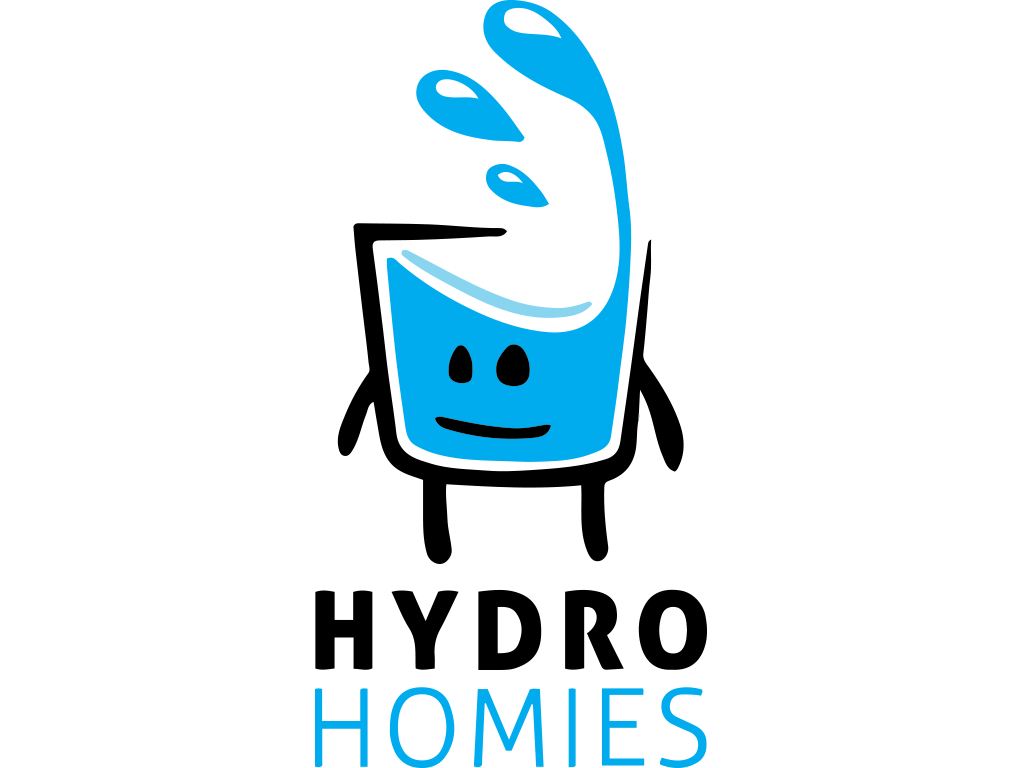 Hydro Homies | Hydrohomies | Cute little cup of water cartoon guy ready to be your friend